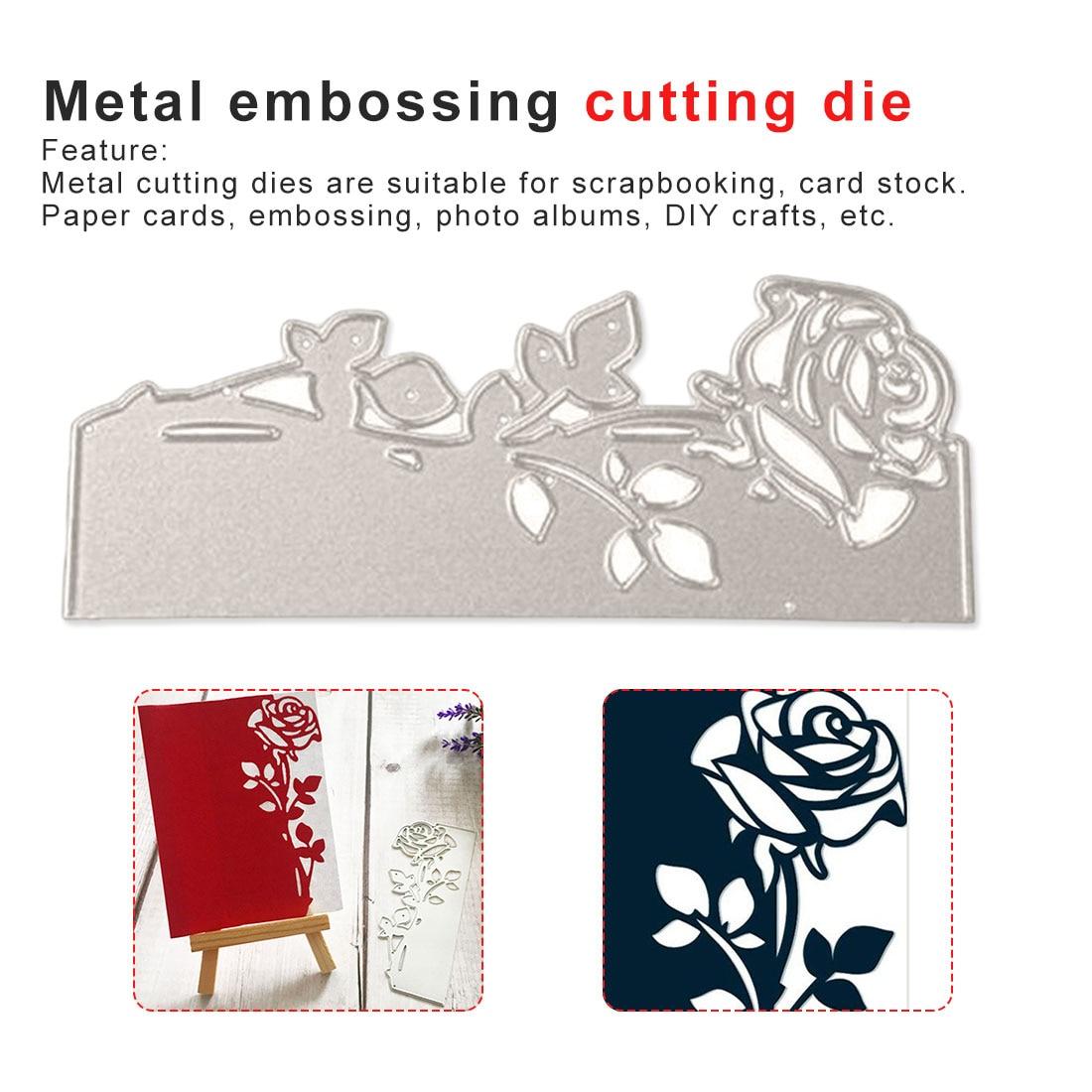LEAVES DIY METAL CUTTING DIE SCRAPBOOK ALBUM PAPER CARDS EMBOSSING STENCIL NICE