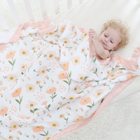 Four Layer 100 Bamboo FIber Blanket Newborn Baby Swaddling Super Comfy Bedding Blankets Swaddle Wrap Babies