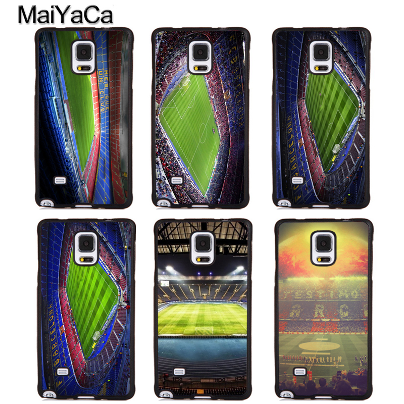 MaiYaCa Estadio Camp Nou Barcelona Spain Soft Rubber Phone Cover For Samsung Galaxy S5 S6 S7 S8 S9 edge plus Note 4 5 8 Case