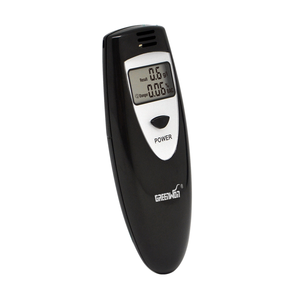 Prefessional Police Portable Breath Alcohol Analyzer Digital Breathalyzer Tester Body Alcoholicity Meter Alcohol Detection high quality precision skin analyzer digital lcd display facial body skin moisture oil tester meter analysis face care tool