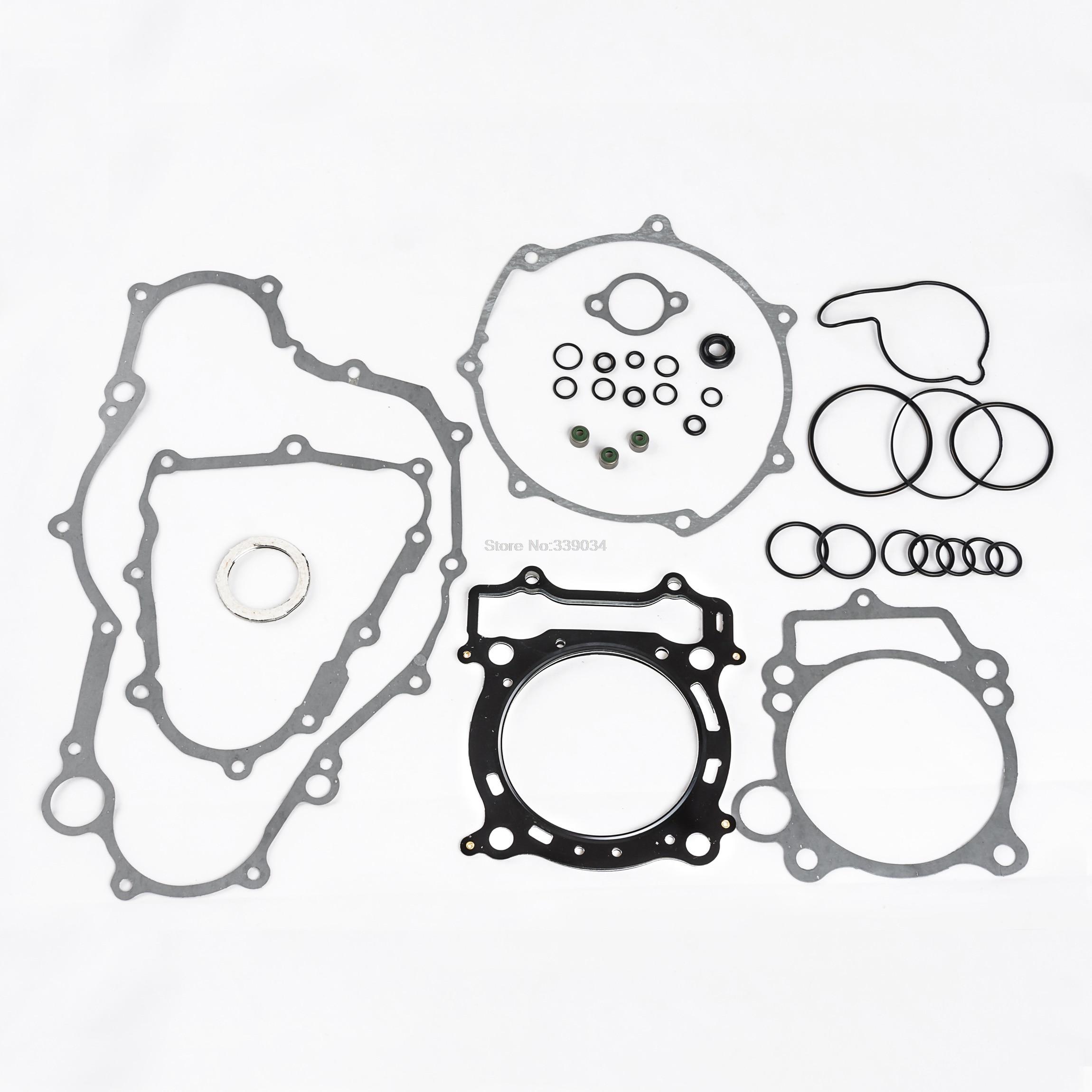 Complete Motorcycle Engine Gasket Set Kit For Yamaha