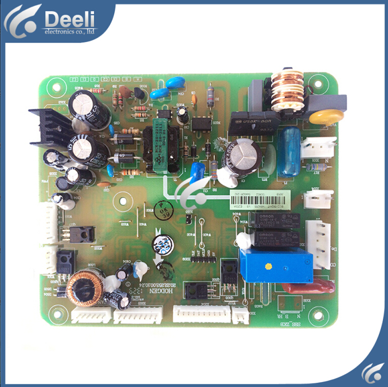 95% new good working for refrigerator pc board Computer board BCD-562WT BCD-563WY 1566987 95% new for haier refrigerator computer board circuit board bcd 219bsv 229bsv 0064000915 driver board good working