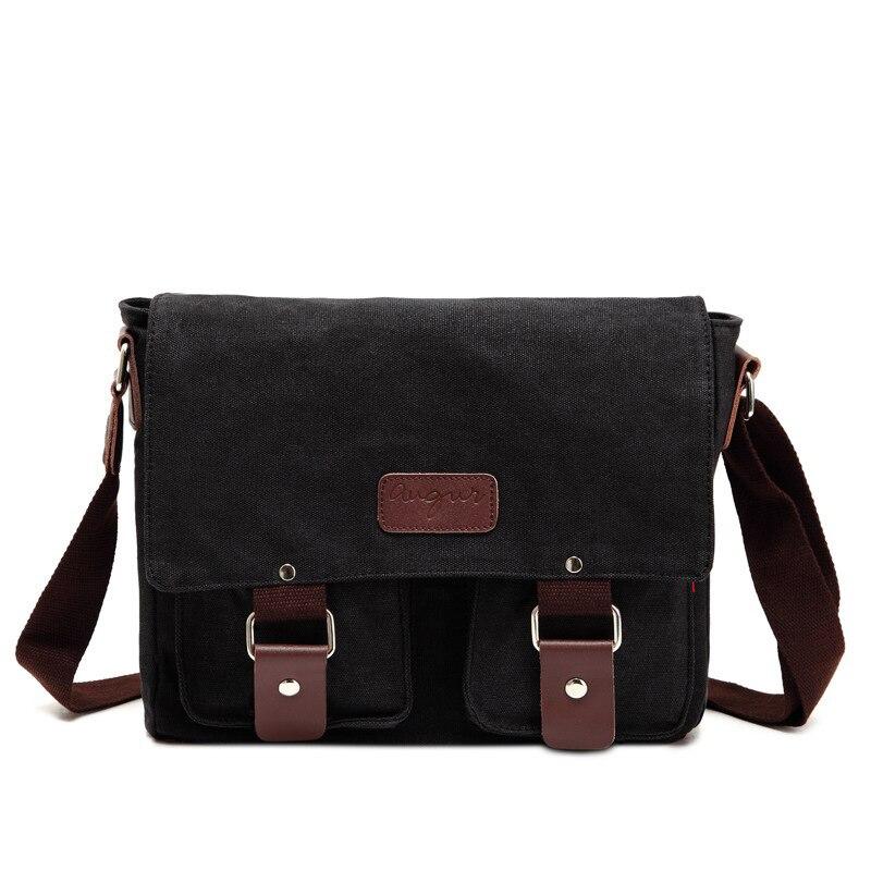 OZUKO hommes sac Vintage hommes toile Messenger sacs grande capacité voyage bandoulière sacs mode luxe Designer décontracté sac à bandoulière    2