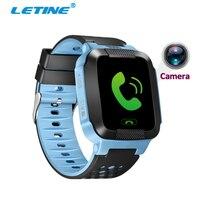 Letine Q528 Écran Tactile Montre Smart Watch Téléphone Android Enfants de Montres avec GPS Tracker SOS Sim Carte pour Bébé Enfants PK Q90 Q100