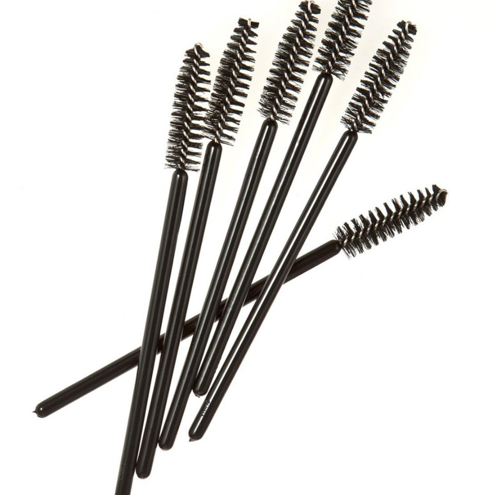 1000pcs lot disposable micro eyelash brushes mascara wands for Mascara with comb wand