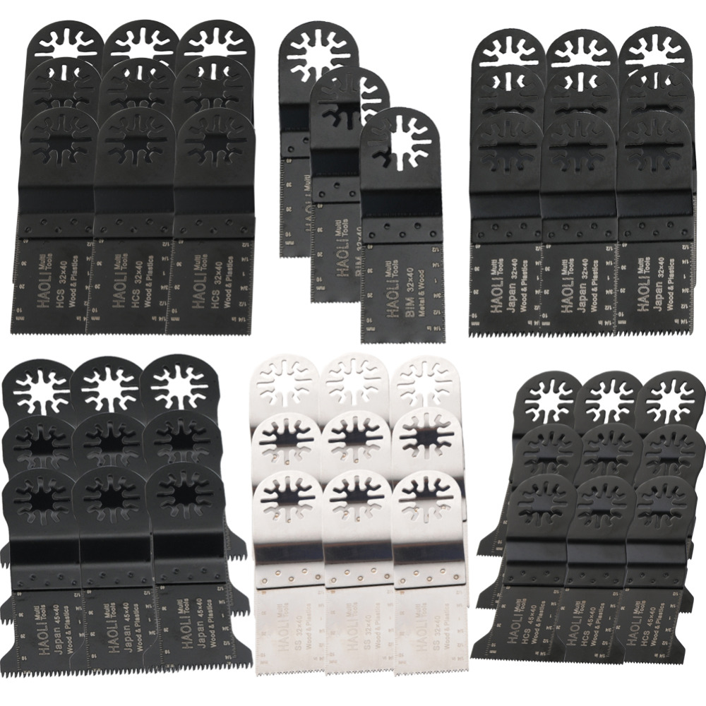 ФОТО 48 pcs saw blades for Multimaster craftsman,wood working oscillating tool,suitable for TCH,FEIN,DREMEL etc,FREE SHIPPING