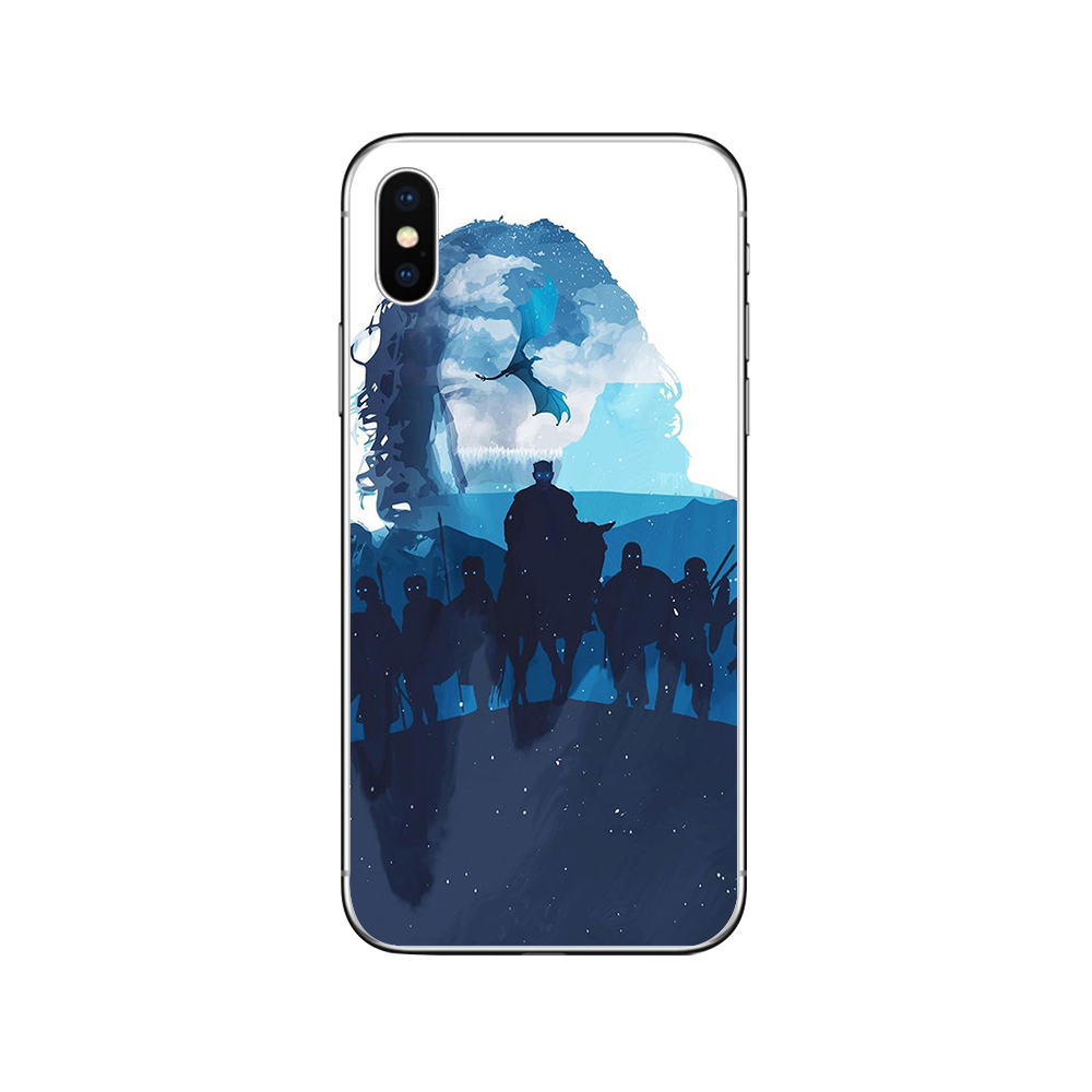 ciciber Game Thrones Cover Funda for Iphone 7 8 6 6S Plus 5S SE 11 Pro Max Soft Silicone Phone Case for Iphone X XR XS MAX Coque in Fitted Cases from Cellphones Telecommunications