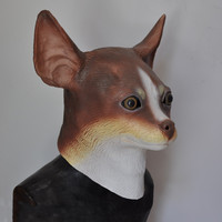 2019 Hot Selling Realistic Full Head Carnival Animal Mask Celebrations Party Adult Long Eared Ealgle Mask