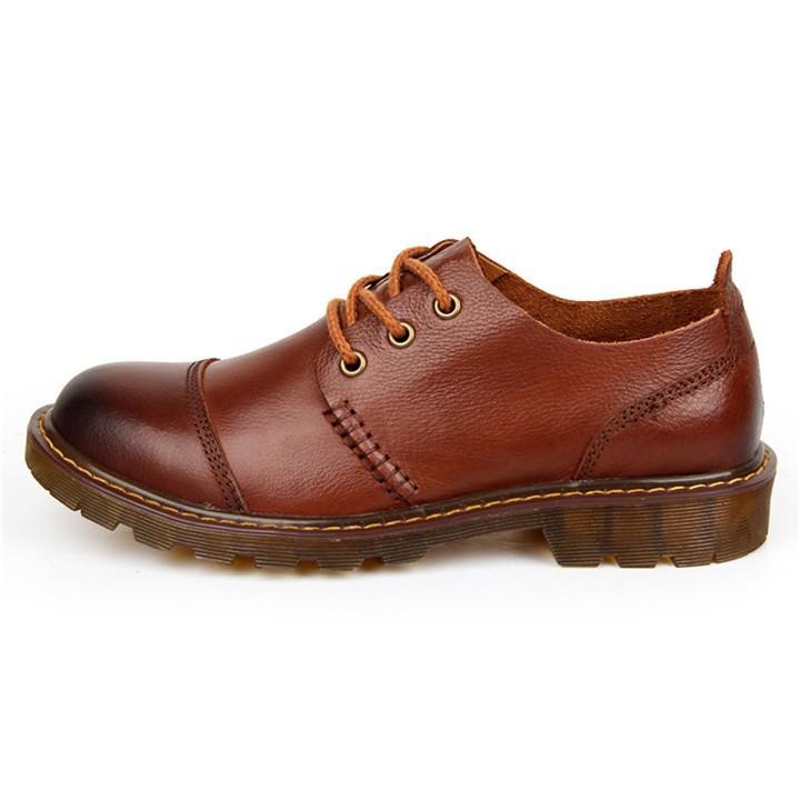 leather oxfords men