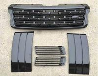 JIOYNG ABS Side Air Vent Kit Mesh Fender grille fog lamp Cover Trims For Range Rover Vogue 2013 2014 2015 2016 2017 BY EMS