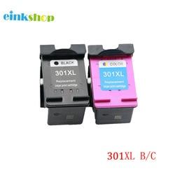 Einkshop 301XL Cartouche D'encre remise à neuf De Remplacement Pour hp 301 XL Deskjet 1000 1050 1510 2000 2050 2050a 2510 3510 Imprimante