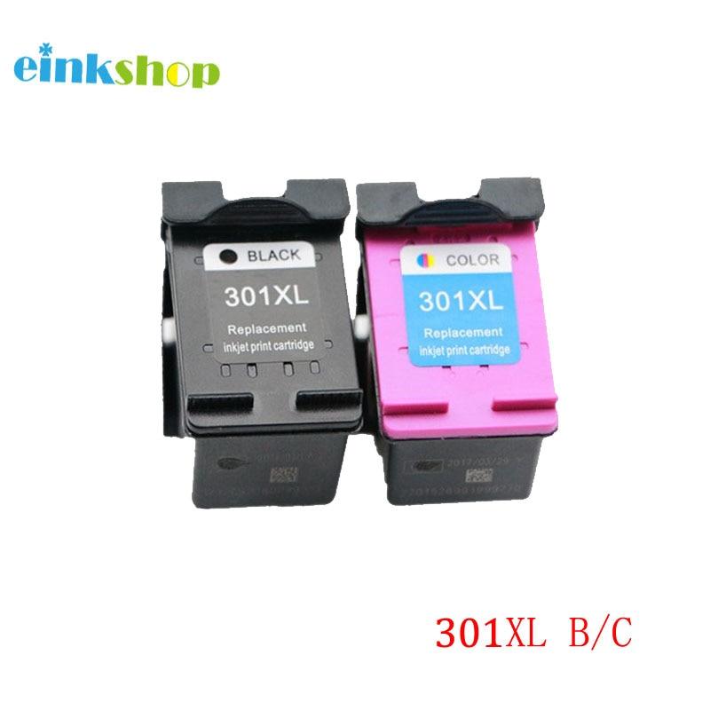 einkshop 301XL Înlocuirea cartușelor de cerneală remanufacturate Pentru hp 301 XL Deskjet 1000 1050 1510 2000 2050 2050a 2510 3510 Imprimantă