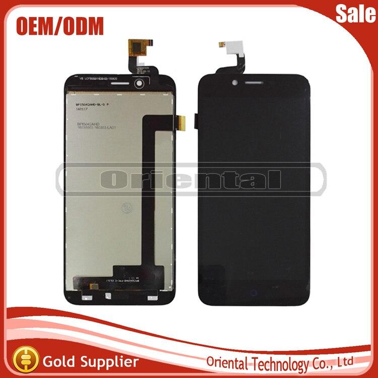 Probado teléfono partes pantalla lcd de pantalla táctil asamblea de cristal de l
