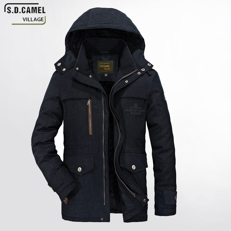 New brand man clothes winter jacket mens coat size M-5XL Thick winter Hot Sale Quality J ...