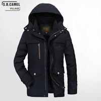 Yeni marka adam giysileri kış ceket erkek ceket boyutu M-5XL kalın kış Sıcak Satış Kaliteli Ceket Erkekler Sıcak Dış Giyim Ceket rahat