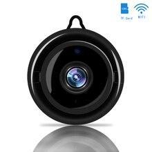 מיני אלחוטי WIFI IP מצלמה חכם אבטחת בית אינפרא אדום ראיית לילה מעקבים מצלמה Sd כרטיס אחסון ענן טלוויזיה במעגל סגור צג