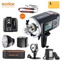 Godox AD600B Studio ttl Flash Bowen крепление GN87 600 Вт HSS 1/8000 s 2,4 г беспроводной с 8700 мАч литиевых батарея Открытый стробоскоп