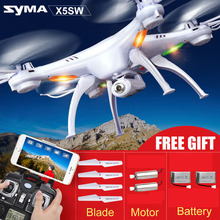 SYMA FPV X5SW X5S X5SC X5A Drone With Camera Quadcopter Wifi Real Time Headless Dron/X5S RC Helicopter Quadrocopter Kids Toys