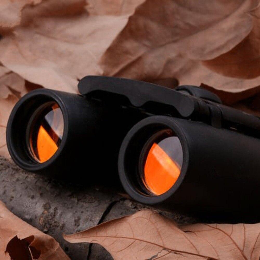 Pequeños prismáticos plegables Mini binoculares 30X60 HD ancho ángulo portátil de bajo nivel de luz noche visión bolsillo binoculares