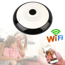 1.3MP 960P HD Webcam Panoramic Camera WIFI IP Surveillance Camcorder Cam Infrared Night Vision 360 Degree Security CCTV