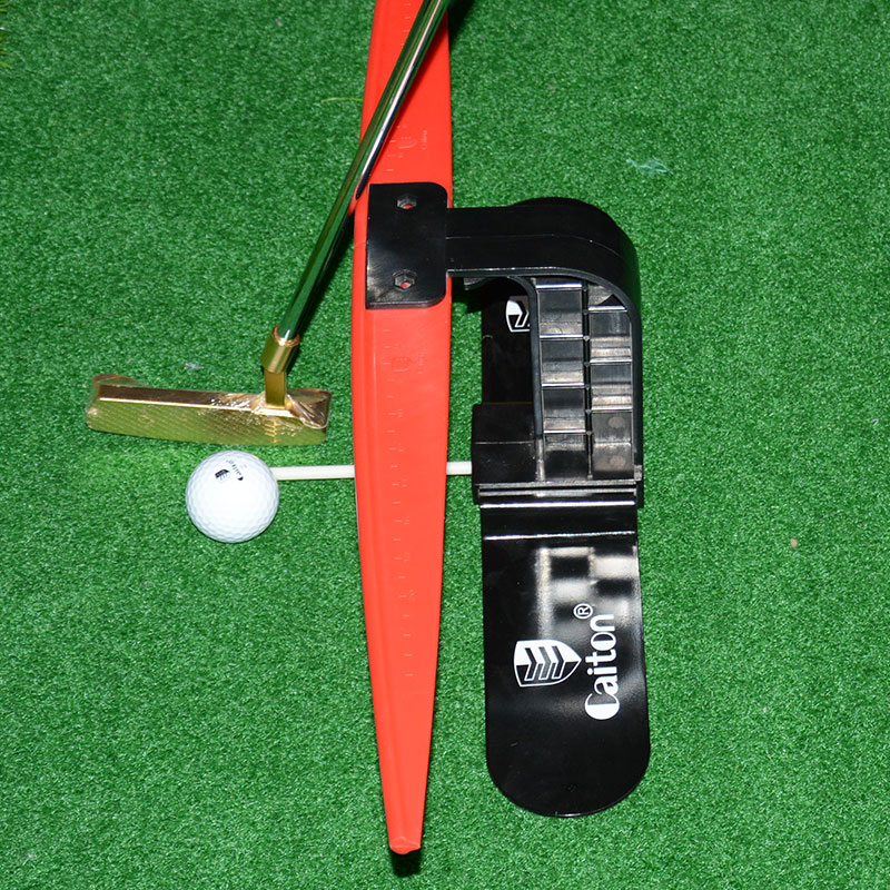 Golf putter swing trainer portable