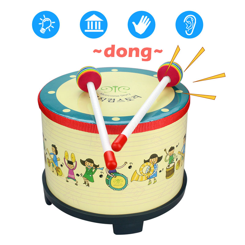 Tambourine Korean Drum Wooden Education Music Musical Instruments Percussion Instrument Teaching Tools Beautiful