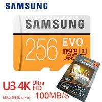 Samsung Memory Card 64gb Micro Sd 256gb 128gb Tarjeta Mini Sd Carte Microsd 4K HD SDXC