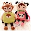 Crianças metoo doce bonito dos desenhos animados panda koala mochila da escola dos miúdos do jardim de infância bolsa de ombro menina boneca de brinquedo de pelúcia do presente do bebê 1 pc