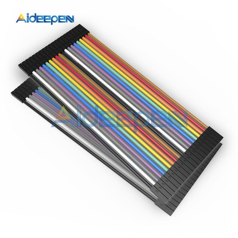 5 Pin 10 Pin 40 Pin 10 см 20 см от штекера к гнезду Dupont линейный кабель макетная плата соединительный провод разъем для Arduino