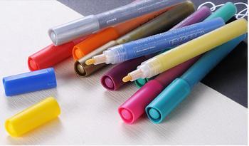 наборы акриловой краски | 24 цвета акриловые краски маркер эскиз канцелярских товаров Набор для DIY Манга рисования маркер ручка школьников краски Er поставки