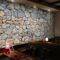 Free Shipping Simple Modern 3D Three Dimensional Stone Pattern Large Mural Cafe Restaurant Living Room Sofa