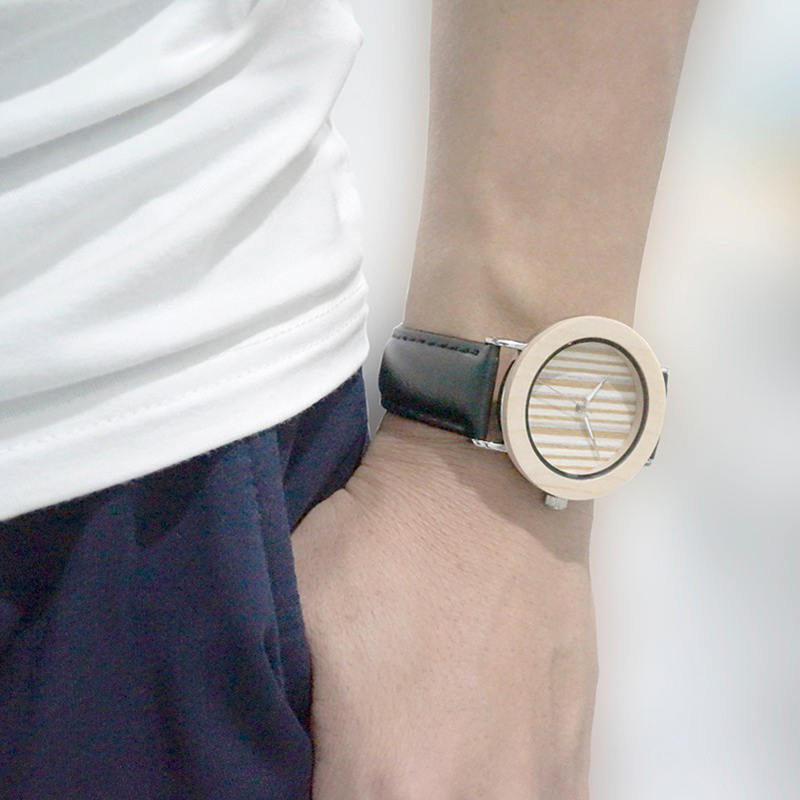 BOBO BIRD Men Watch Quartz Wristwatch Stainless Steel Wooden Watches Male Bamboo with Leather Strap in Gift Box relojes homer bobo bird b12 ebony wood men s designer bamboo wooden wristwatch with genuine leather strap casual men dress watch in gift box