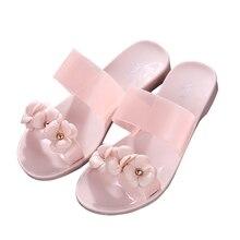 Blume hausschuhe Frauen Sandalen Mode Sommer Schuhe Frauen Flachen Sandalen Flip Flops Alias Mujer Damen Sandalen