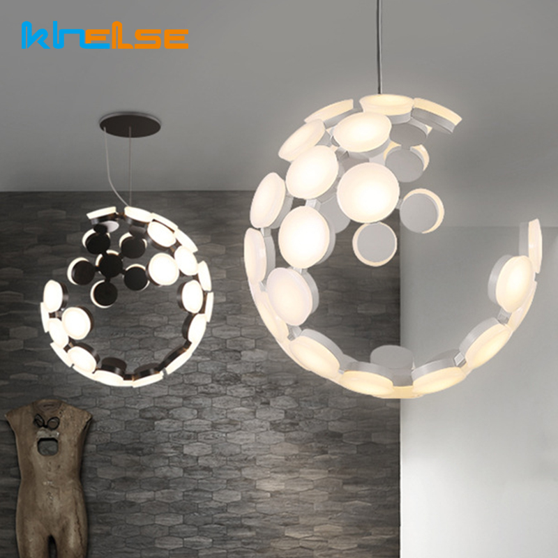 Modern Hanging Pendant Light Acryl LED Bulb Cord Pendant Lamp Dining Room Light Fixtures Living Room Hotel Shop Decor Luminaire bried led aluminum acryl pendant light for office dining room ruler creative jane pendant light 110 220v 34 60 90 120cm 1759
