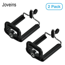 JOVEINS 2 Pack Universal Moblie Phone Clip Bracket Holder Mount Tripod Monopod Stand for Smartphone Camera Tripod Stand Adapter