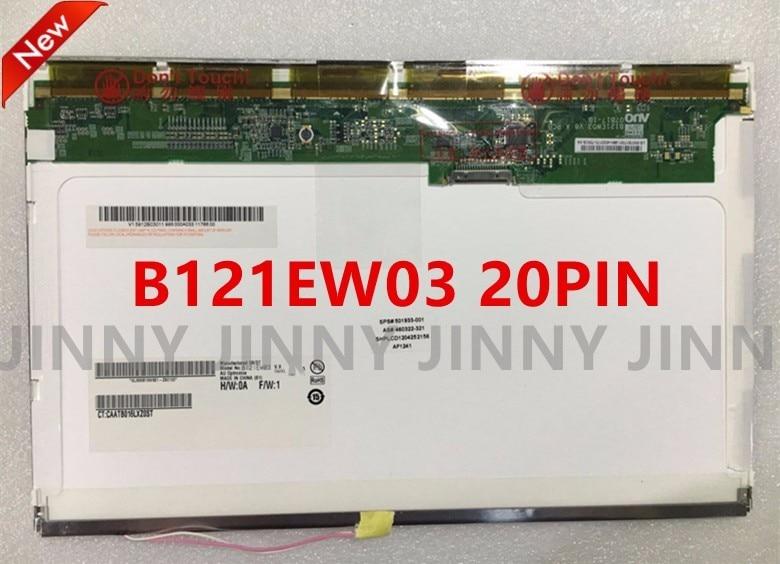 Free Shipping N121I3-L01 L03 L02 LTN121W1-L03 -L01 LTN121AT02 CLAA121WA01A B121EW03 LTD121EWVB 20PIN XJ Laptop LCD Screen 12 1 inch lcd screen n121x5 l01 n121x5 l01 n121x5 l03 n121x5 l06 free shipping