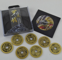 Chinese LuohanQian Size As Morgan Coin 38mm Deluxe Chinese Coin Set China Ancient Coin Coin Magic