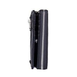 Image 2 - 連絡の本革の女性は2020新女性ショートジッパー財布シープスキン財布カードホルダーコインポケット