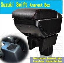 Para Suzuki Maruti Swift DZire caja del contenido del Almacén con portavasos cuadro apoyabrazos central cenicero decoración Con interfaz USB