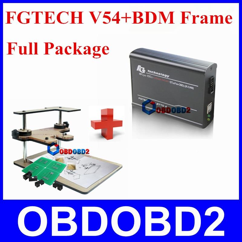 One Set for Sale FGTECH V54 BDM Frame Professional OBD2 Master ECU Chip Tuning font b