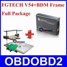 Un Juego a la Venta FGTECH V54 + Frame BDM Profesional OBD2 Maestro ECU Chip Tuning Herramienta No Limita el Envío Expreso