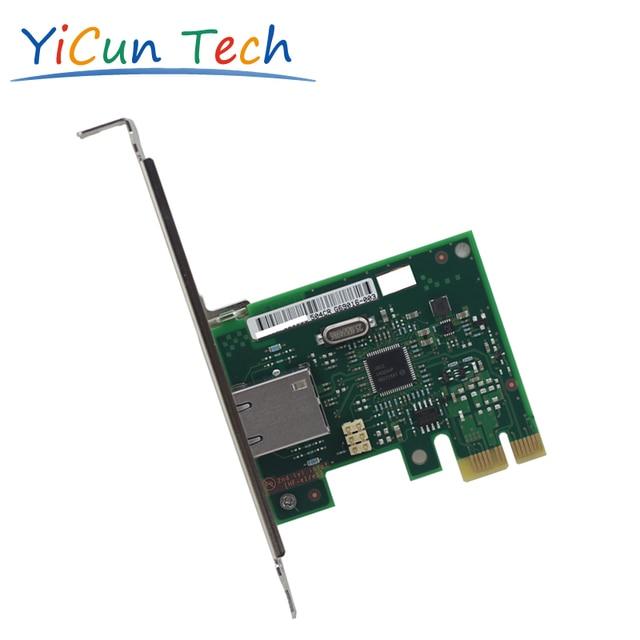Новый I210-T1 Один Порт PCI-E X1 Ethernet Серверный Адаптер I210