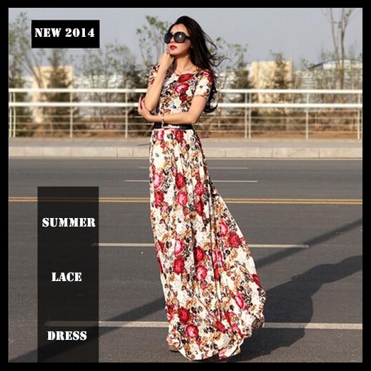Full length casual summer dresses