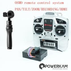 OSMORIDER OSMO remote controller for DJI osmo series including PAN,TILT,ZOOM,REC,MENU