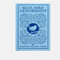36pcs board game playing cards Blue Bird Lenormand not tarot card english instruction