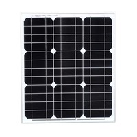 2 Pcs/Lot Painel Solar 40w 12v Monpcrystalline Silicone Wafer Solar Battery For Phone Led Laptop Lamp Motorhome Marine Boat