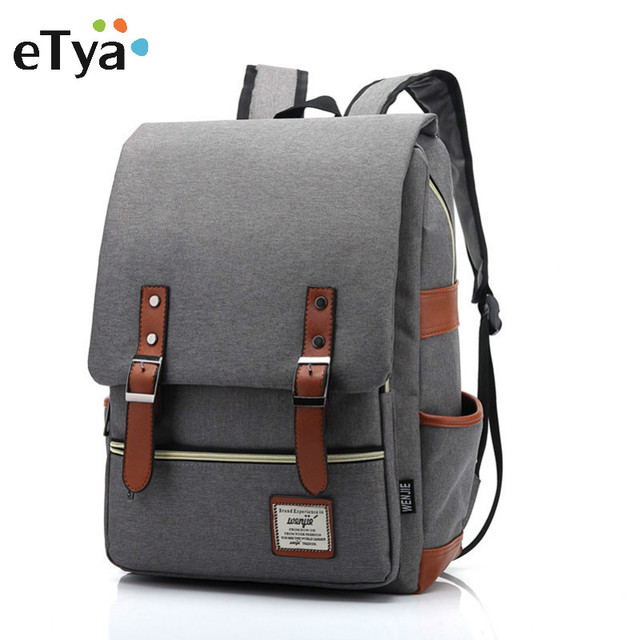 7c9df9aaa7c2 eTya Brand Stylish Travel Large Capacity Backpack Male Luggage Shoulder Bag  Computer Backpacking Men Functional Versatile Bags