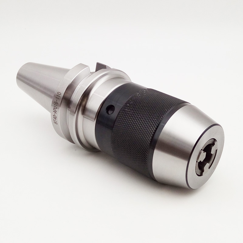 1PCS BT30 BT40 NT30 NT40 APU08 APU13 APU16 80L 100L 110L Self tightening chuck handle for connecting drill chuck in Tool Holder from Tools