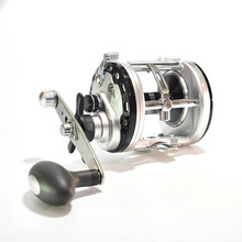 Bass Fishing Reels Level Wind Trolling Reel Conventional Jigging Reel for Saltwater Big Game Fishing
