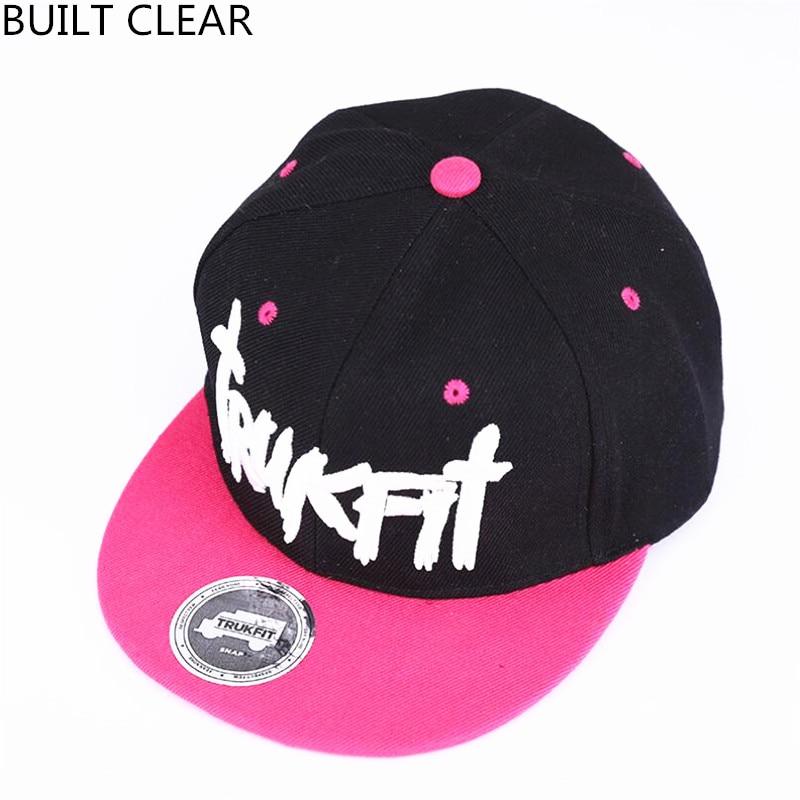 (BUILT CLEAR) new hip hop hat embroidered fashion baseball cap men's women's leisure street hood wholesale snapback caps